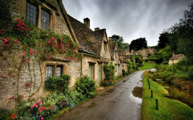Bibury is often referred to as the most beautiful town in England