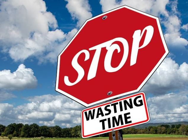 Stop wasting time...cropped